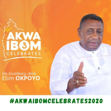 His Excellency, Sir (Amb) Etim Jack Okpoyo - Engineer, businessman and politician, He shares the same birthday with Akwa Ibom State and made history as its first civilian deputy governor having been elected along with the late Obong Akpan Isemin in 1992 under the platform of the National Republican Convention, NRC.  Charismatic and quite cerebral, Sir (Amb.) Etim Jack Okpoyo