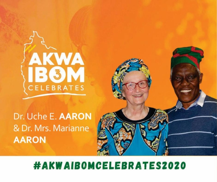 Dr. Uche E. Aaron and Dr. Mrs. Marianne Aaron